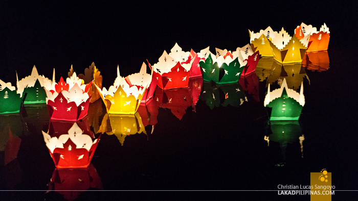 Hoi An Ancient Town Vietnam Floating Lantern