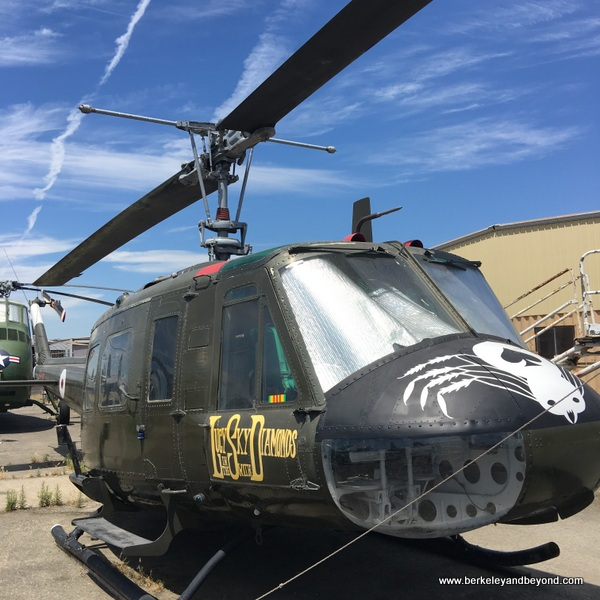 """""""Lucy"""" helicopter at Pacific Coast Air Museum in Santa Rosa, California"""
