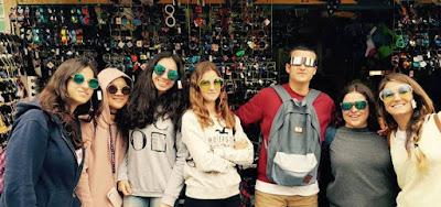 recuerdos del año academico en el extranjero