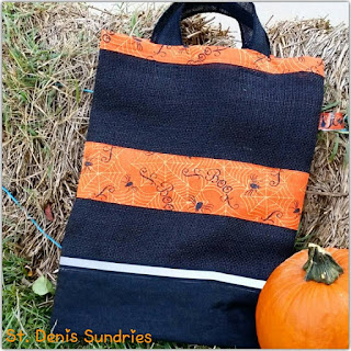 Halloween Trick-or-Treat pillowcase bag
