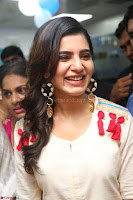 Samantha Ruth Prabhu Smiling Beauty in White Dress Launches VCare Clinic 15 June 2017 035.JPG
