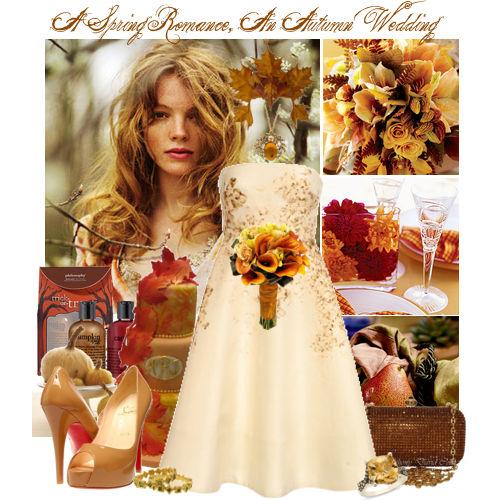 Non Traditional Fall Wedding Dresses: Parentesi Wedding Blog: Matrimonio D'Autunno