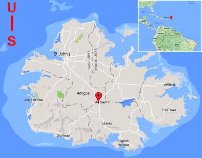 Pulau negara Antigua dan Barbuda
