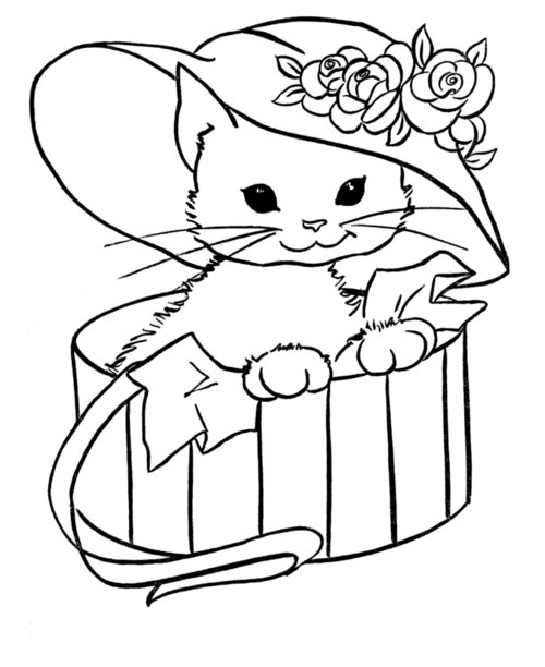 Free Coloring Pages : Free Animal Coloring Pages For Kids