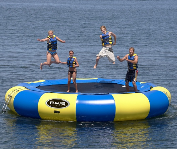Giant Floating Trampoline