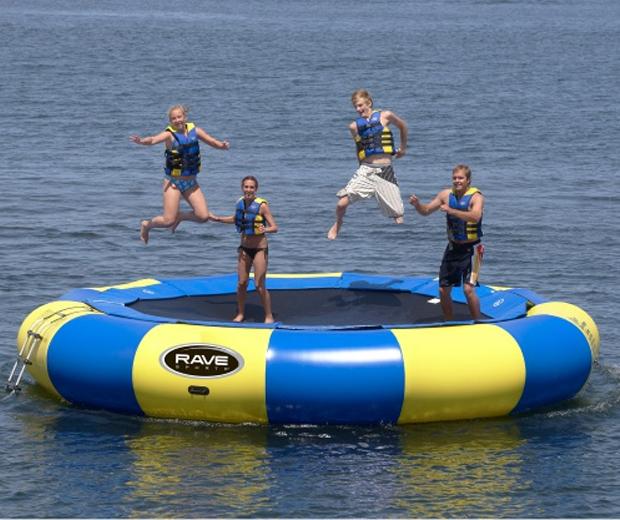 Giant Floating Trampoline