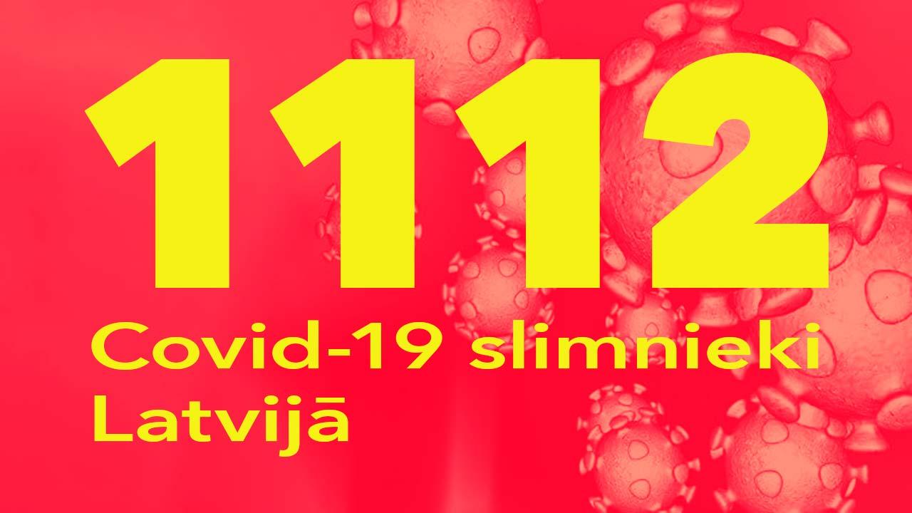 Koronavīrusa saslimušo skaits Latvijā 26.06.2020.