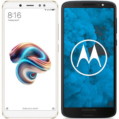 Xiaomi Redmi Note 5 32G vs Motorola Moto G6 32 GB