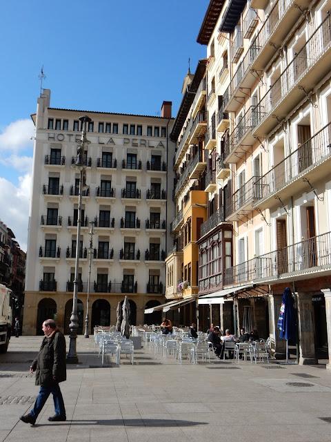 Hotel La Perla, Plaza del Castillo, Pamplona, Navarra, Elisa N, Blog de Viajes, Lifestyle, Travel
