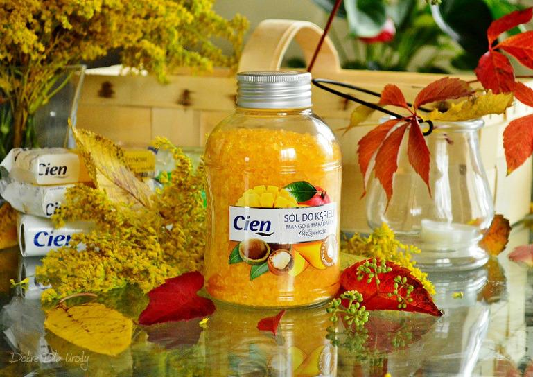 Lidl kosmetyki Cien Odżywcza sól do kąpieli Mango&Makadamia
