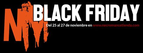 Ruido noise promocion black friday de necromance for Sala hollander
