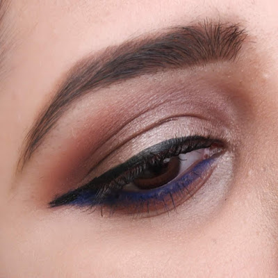 Top 5 Eye Shadow Palettes in India under Rs.1000/- and their Swatches - Maybelline City Mini Chill Brunch Neutrals