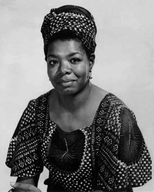 Maya Angelou. Image courtesy: Biography.com