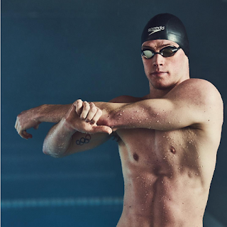 Olympic swimmer Kevin Cordes for Team Speedo