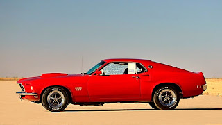 1969 Ford Mustang Boss 429 Side Left
