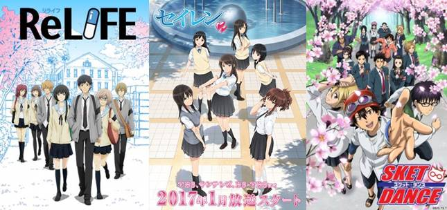 rekomendasi anime school life romance comedy terbaik 2017 2018 2019