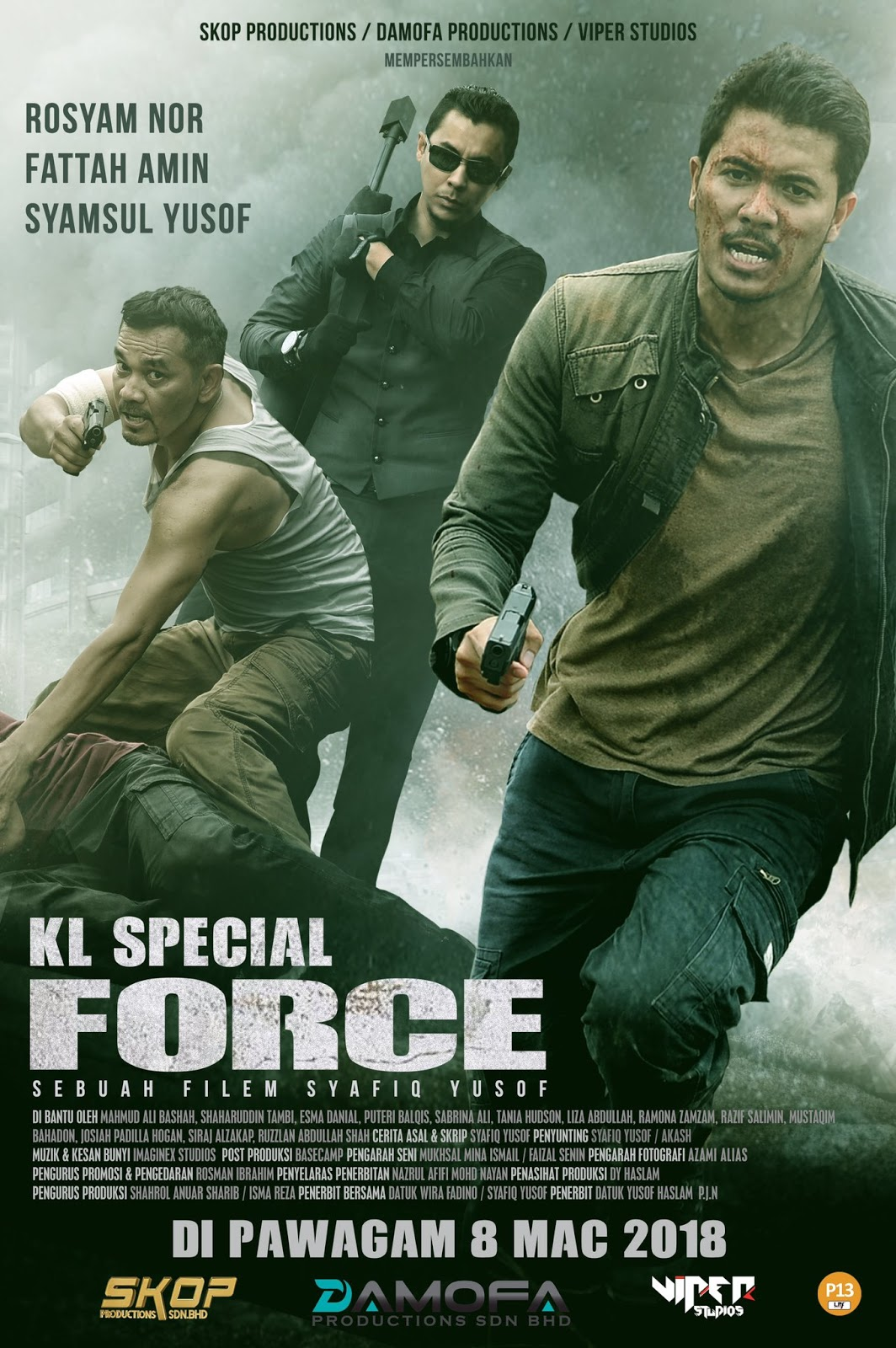 KL SPECIAL FORCE Unleashes Anarchy In The Latest Trailer For The Malaysian  Action Thriller