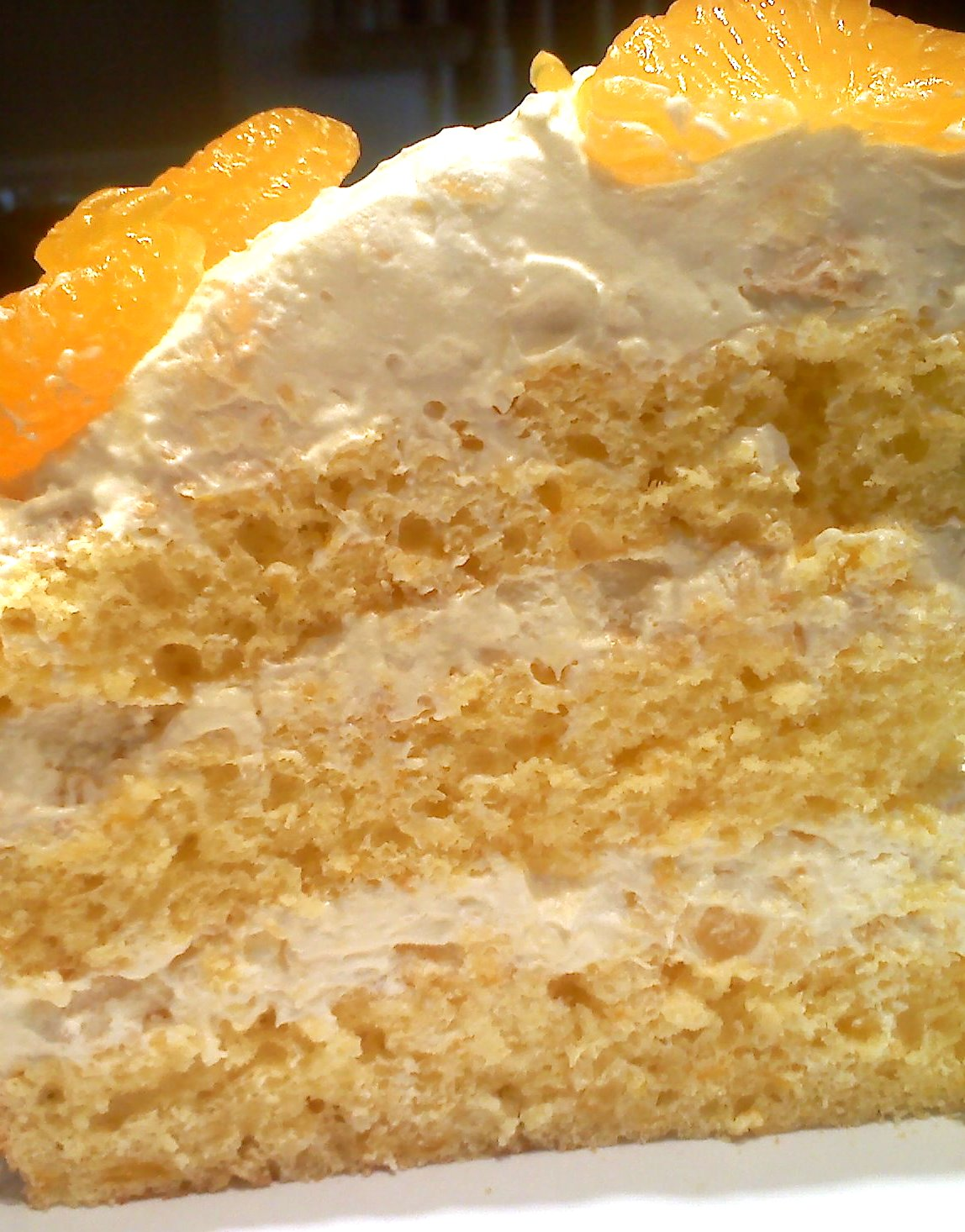 Yellow Cake Mix With Mandarin Oranges