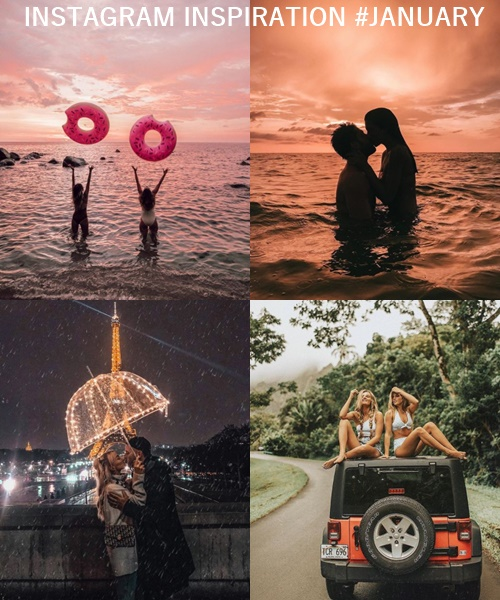 INSTAGRAM INSPIRATION #JANUARY 2018 Falling for A