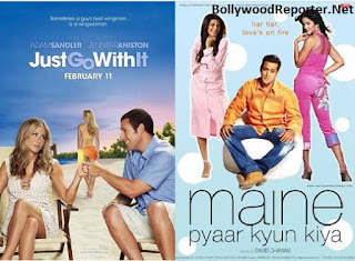Just Go With It (2011)- Maine Pyaar Kyun Kiya (2005)