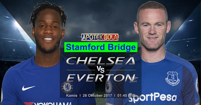 Chelsea vs Everton 26 Oktober 2017