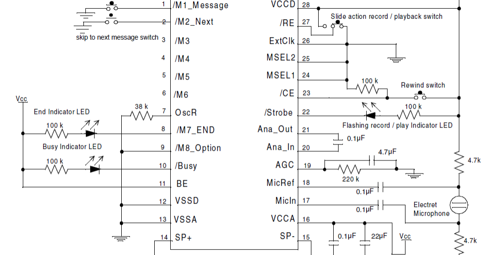 Identify Diagram: Make A Single Chip Programmable Voice