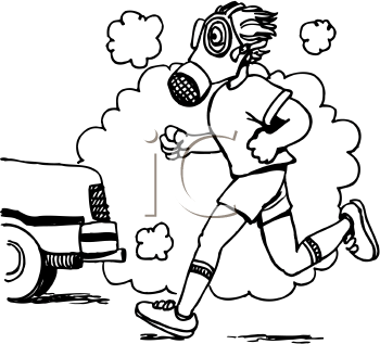Car pollution coloring pages sketch coloring page for Air pollution coloring pages
