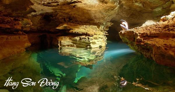 Hình ảnh hang động lọt top 15 hang động đẹp nhất thế giới