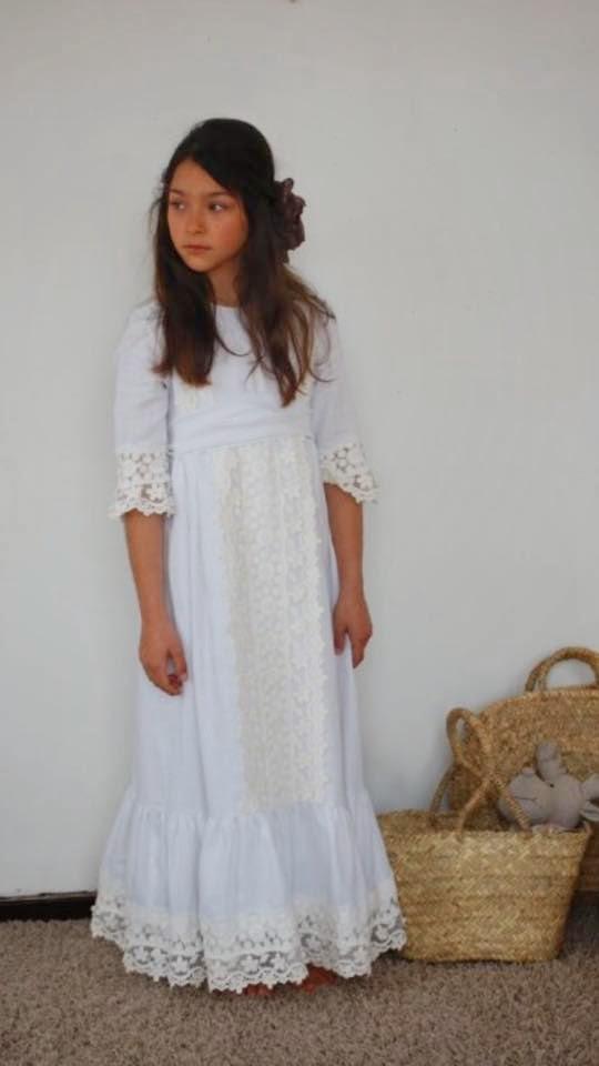 vestido comunion niña By Niné