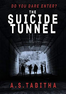 The Suicide Tunnel - a suspenseful YA novel by A. S. Tabitha