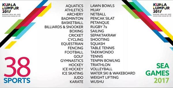Resmi! Stasiun TV Ini Siarkan Pertandingan SEA Games 2017