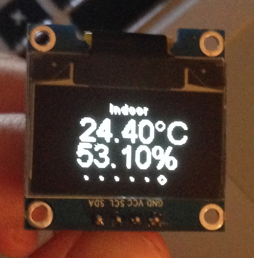 ESP8266 Weather Station: Measuring Inside and Outside Temperature