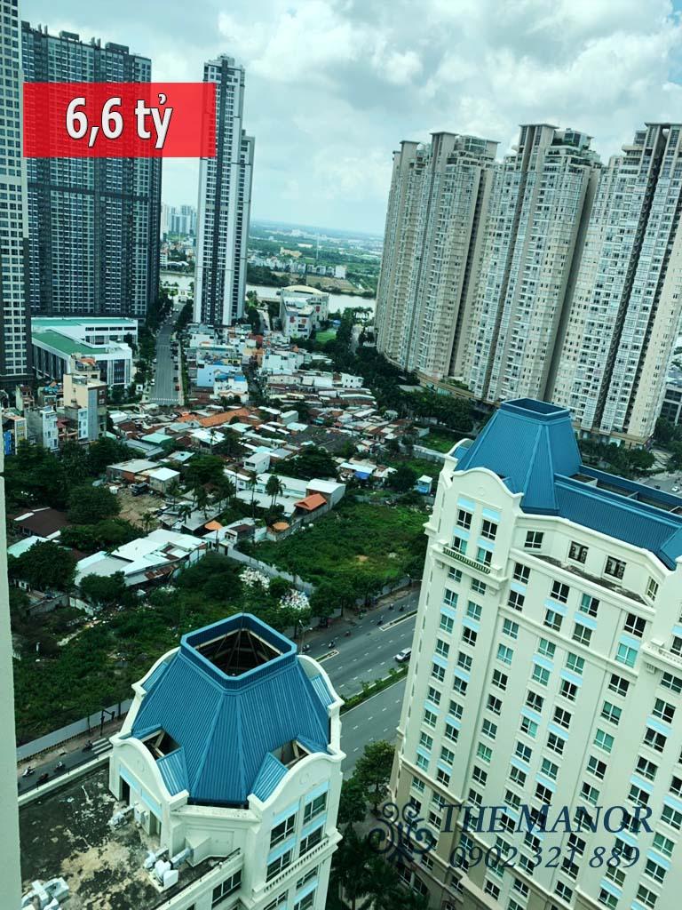 Bán căn hộ 3 phòng ngủ Manor quận Bình Thạnh 160m2 tầng cao giá 6,6 tỷ - 1