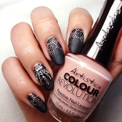 Goth Wedding Nails