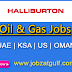 Various Jobs Opening at Halliburton - UAE | KSA | US | OMAN