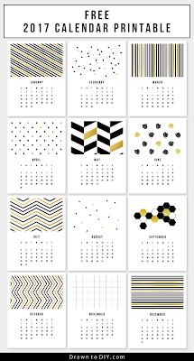 free 2017 poster calendar,