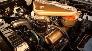 1957 Cadillac Eldorado Biarritz Convertible Engine