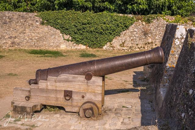 Canon de fer de 12 du modèle 1786 « A LA CANONIERE »