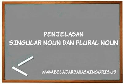 Plural Noun, Singular Noun, Kata Benda Tunggal, Kata Benda Jamak, Pengertian Plural Noun, Pengertian Singular Noun, Penjelasan Plural Noun, Penjelasan Singular Noun, Contoh-contoh Singular Noun, Contoh-contoh Plurar Noun.