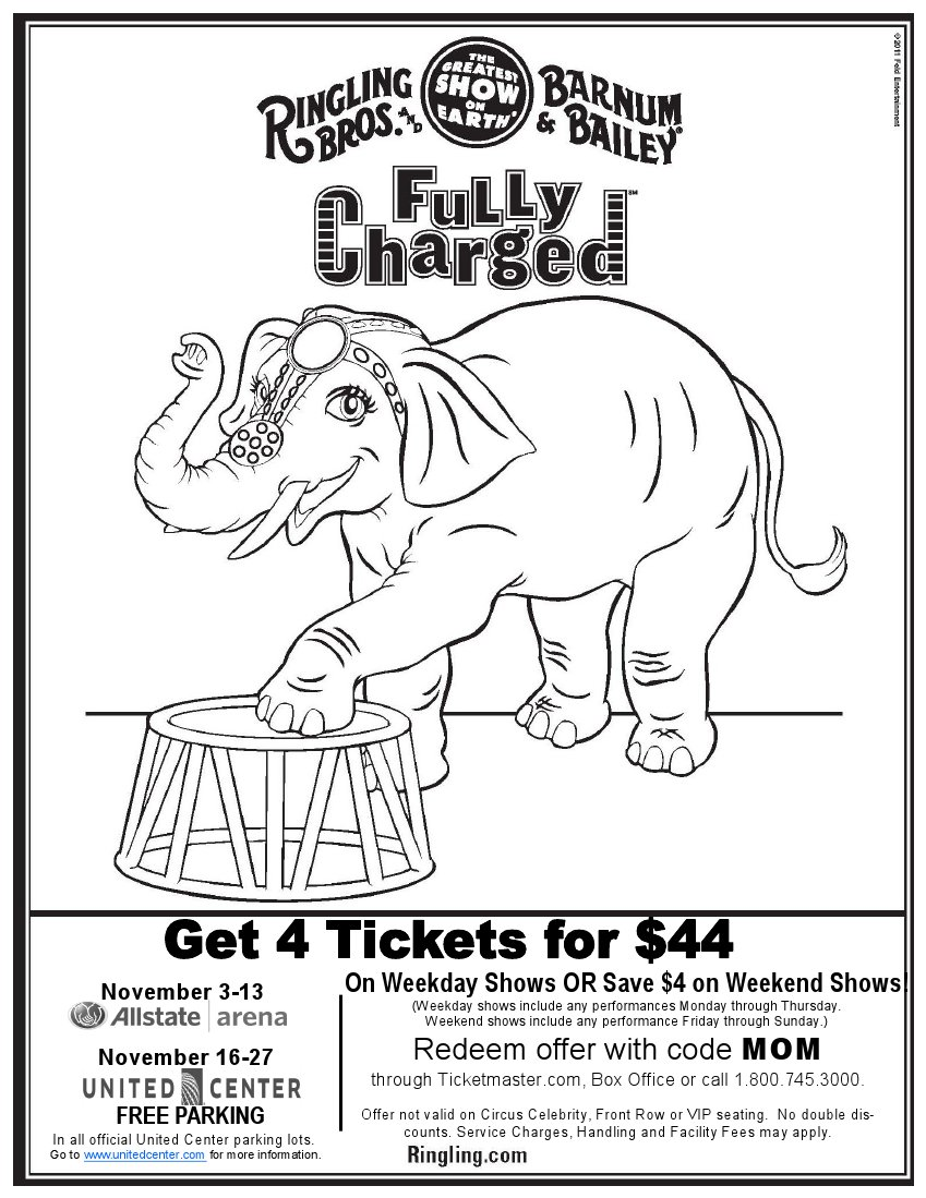 Ticket Coloring Pages