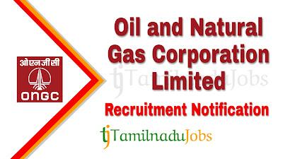 ONGC Recruitment notification 2019, govt jobs for diploma, govt jobs for ITI