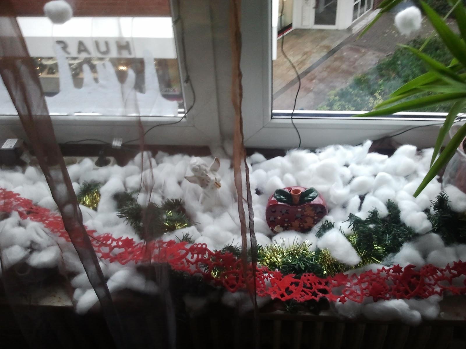 Weihnachtsdeko Watte.נαcqυєℓιηє Meine Weihnachtsdeko