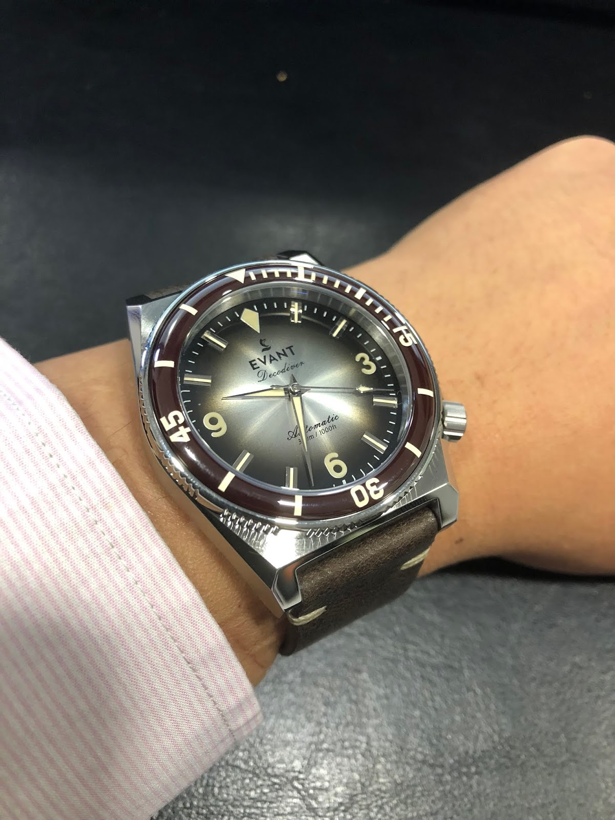 My eastern watch collection evant decodiver fume black limited production dive watch similar to decodiver fume sky blue a flexible watch that can be worn in the sea as well as in thecheapjerseys Choice Image