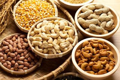 Các loại hạt tăng cân nhanh
