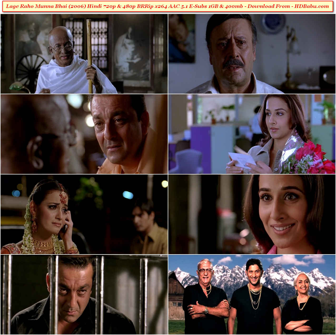 Lage Raho Munna Bhai Full Movie Download