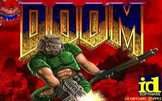 Doom PC original title screen