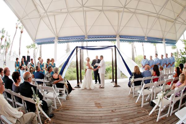 Magic Dress Bridesmaid UK: Inspired Blue Beach Wedding For