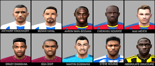 PES 6 Premier League Facepack 2018/2019 by Gabo CR Facemaker