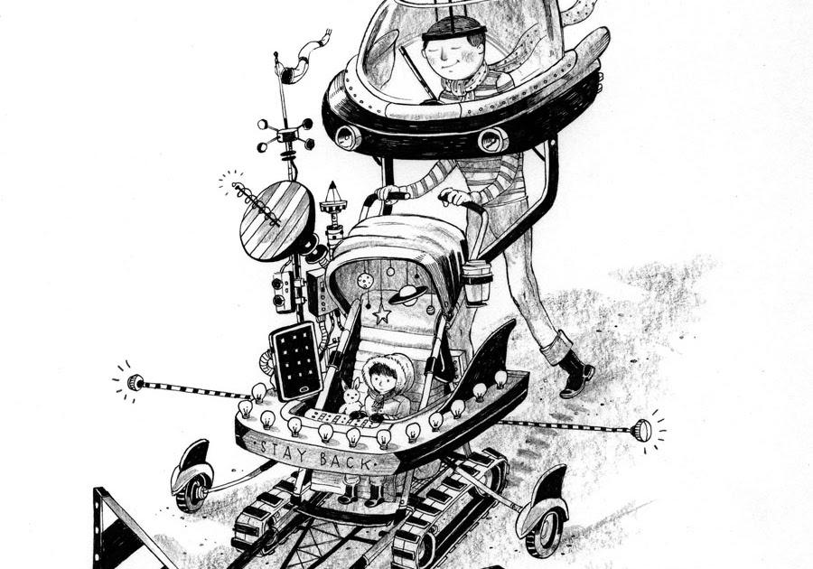Drawing On Deadline: Stroller Op-Ed