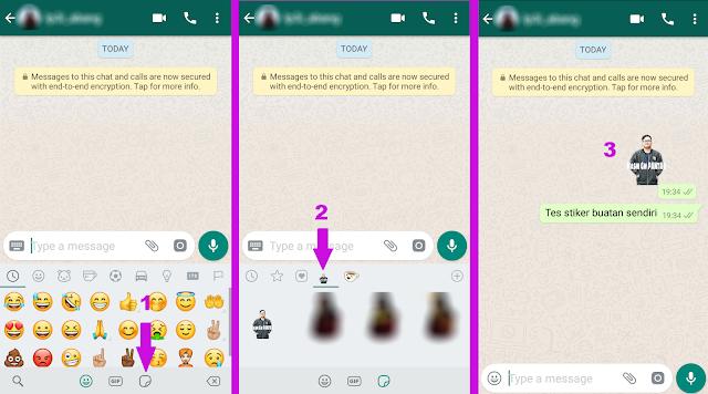 Membuat Stiker Whatsapp dengan Gambar Sendiri